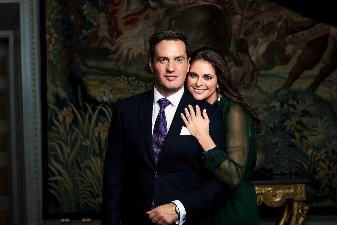 Chris O'Neill och prinsessan Madeleine.