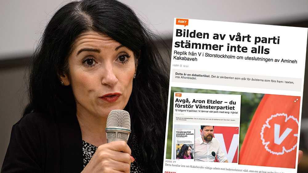 """Vänsterpartiet är obekymrade om vilka man fått som allierade och fortsätter att anklaga mig – en politisk flykting från Kurdistan Iran – för att """"vid upprepade tillfällen spridit rasistiska fördomar, i synnerhet mot muslimer"""". Precis som i diktaturer, underbygger de inte sina anklagelser, skriver Amineh Kakabaveh."""