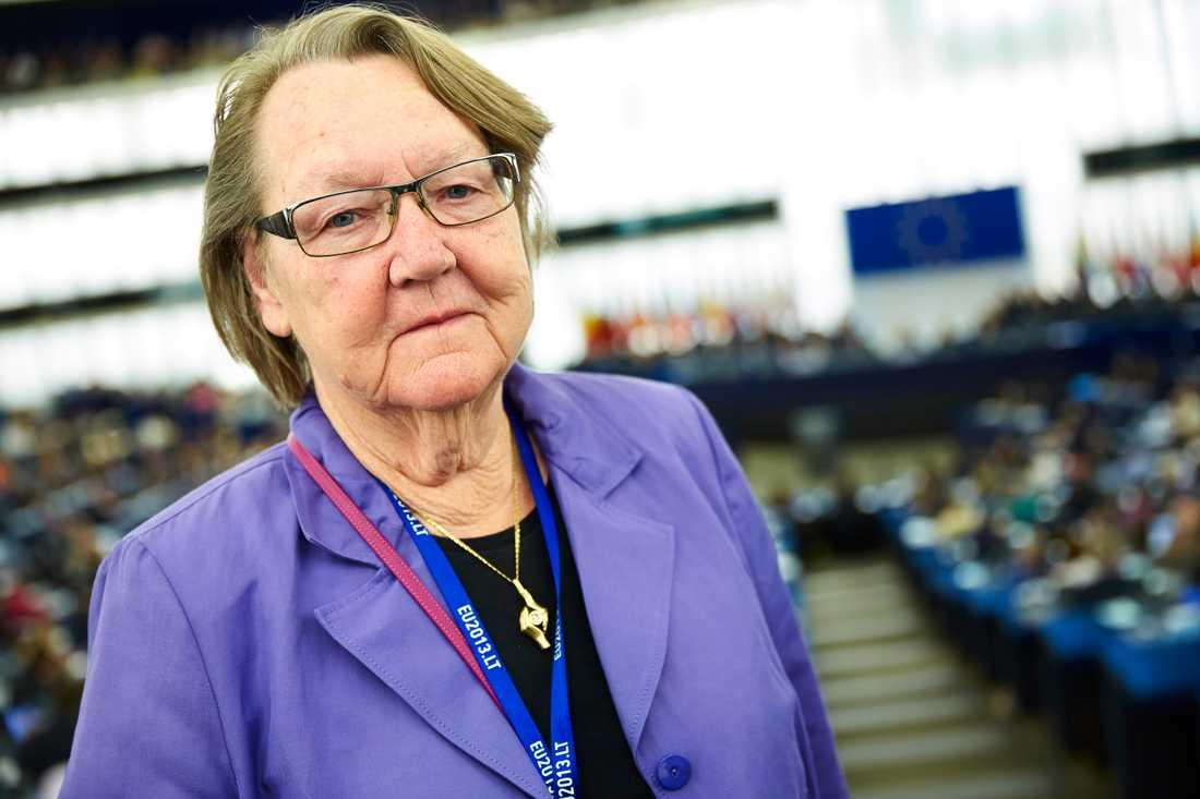 Marit Paulsen (L), tidigare EU-parlamentariker, stödjer Centerns Fredrick Federley. Arkivbild.