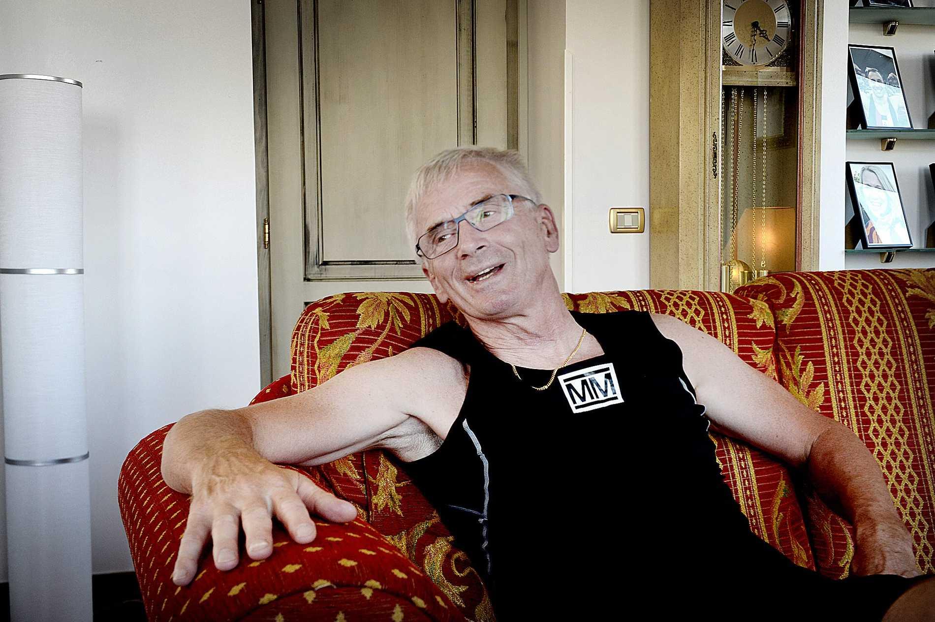 Tidigare landslagsåkaren Sven-Åke Lundbäck.