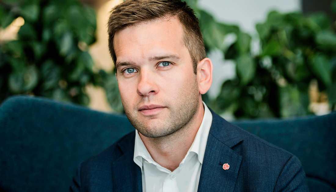 Folkhälsominister Gabriel Wikström (S).