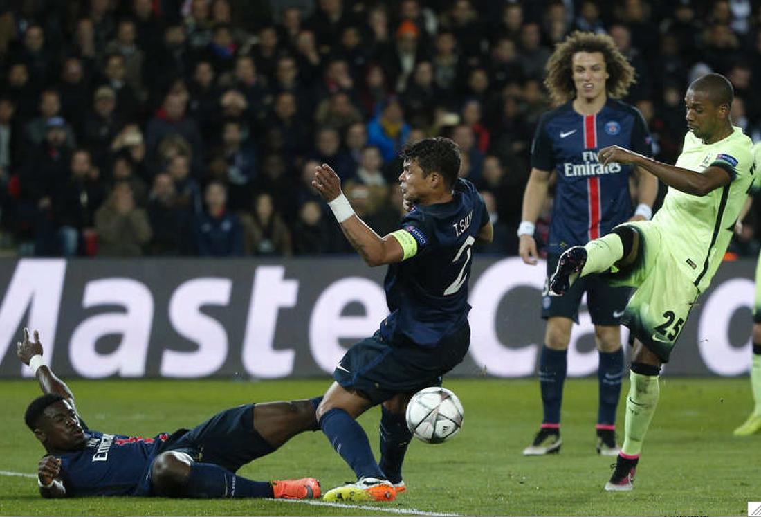 PSG får det tufft i returen. Foto: AP/Thibault Camus