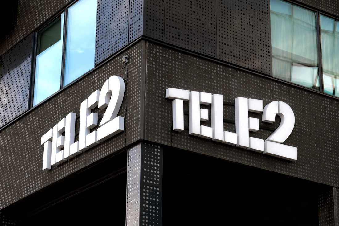 Nytt teletrassel för Tele2. Arkivbild.