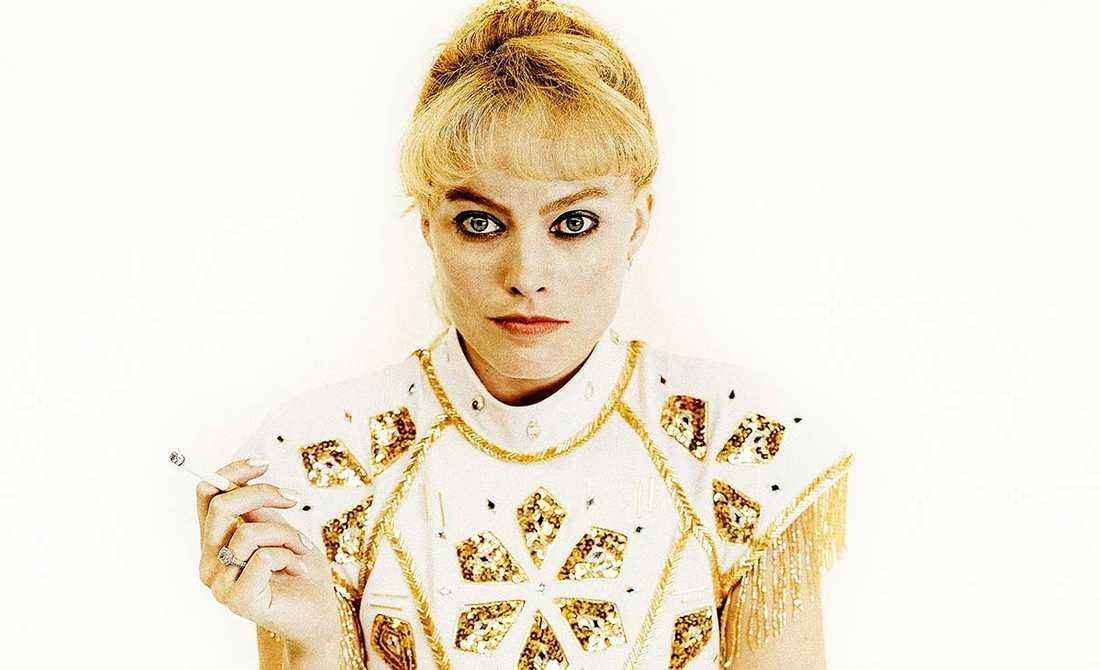 """Margot Robbie spelar Tonya Harding i filmen """"I, Tonya"""" som går upp på svenska biografer i dag."""