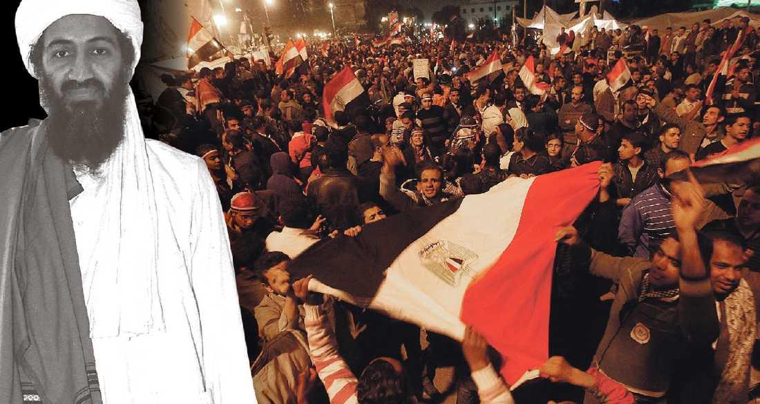 Folket – inte fundamentalism Krafterna som svepte bort Egyptens aukoritära regim var inte organiserade av al-Qaida.