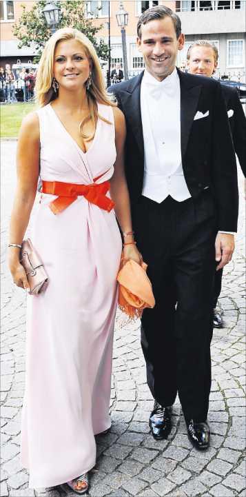 """Goda vänner Prinsessan Madeleine beskriver Jonas som """"världens snällaste person""""."""