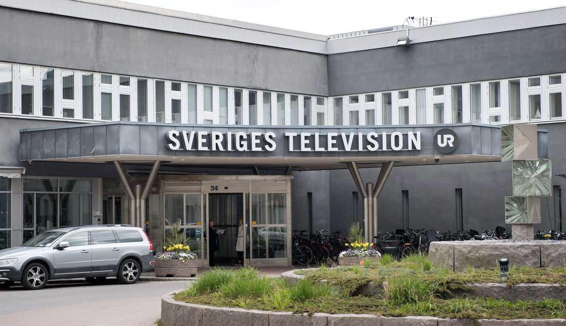 Svt-huset i Stockholm.