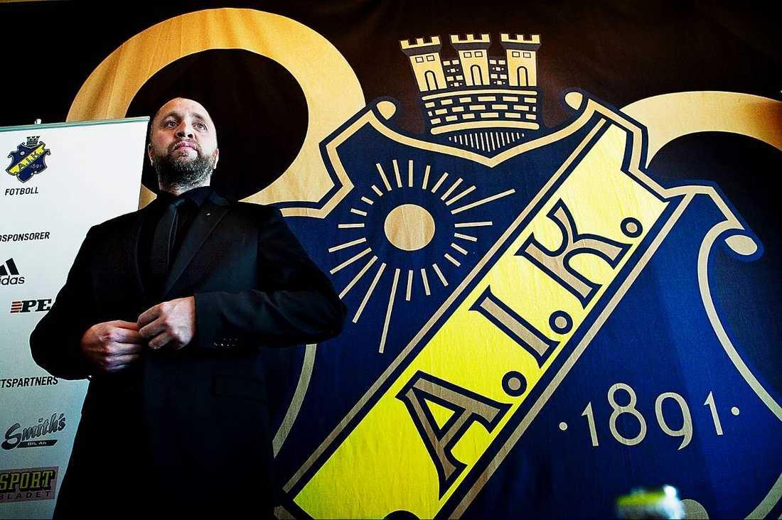 Förre AIK-tränaren och nuvarande tf sportchefen Björn Wesström.