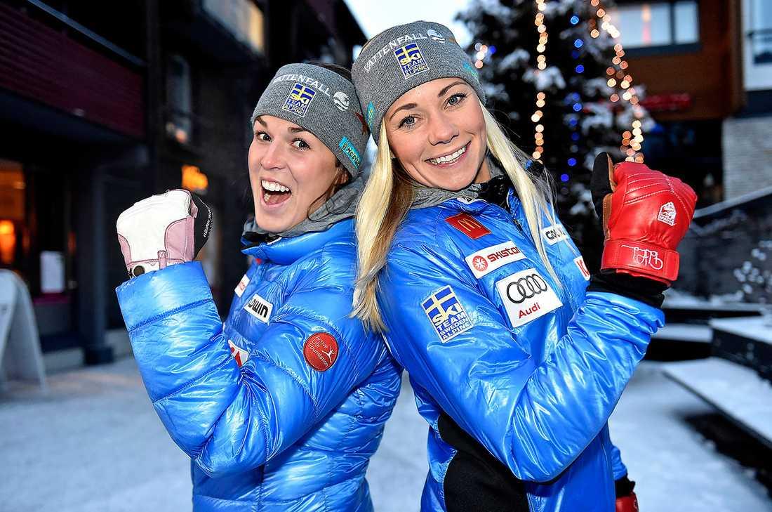 I dag inleder Maria Pietilä Holmner och Frida Hansdotter slalomvärldscupen i finländska Levi.