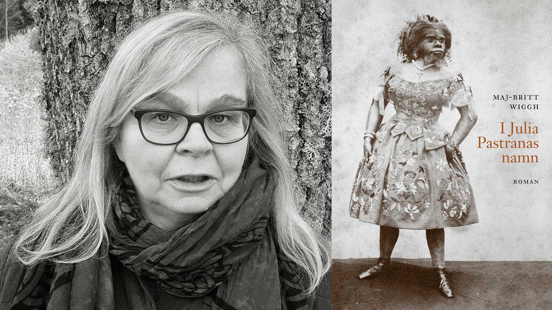 Maj-Britt Wiggh, författare (född 1952), debuterade med romanen Månsådd 1989.