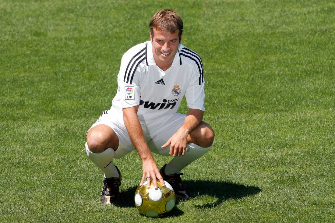 Rafael van der Vaart i Real Madrid.