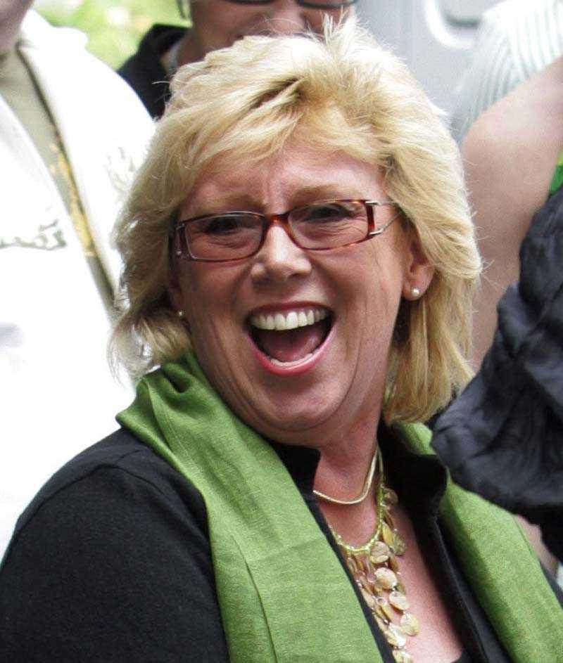 Lena Ek, Europaparlamentariker (C).