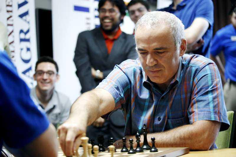 Förre schackvärldsmästaren Garri Kasparov.