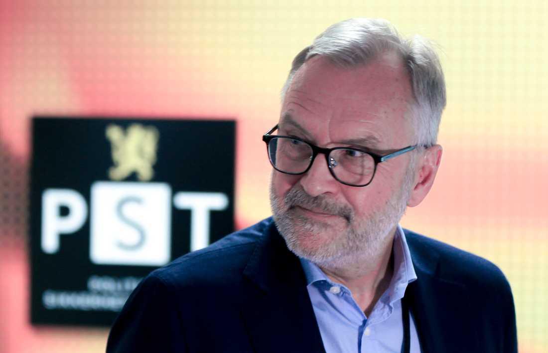 Hans Petter Sjøvold är chef för den norska säkerhetspolisen (PST).