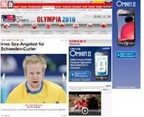 Edin förnekar uppgifterna om sextrakasserier i tyska Bild.