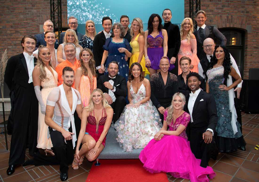 """Årets deltagare i TV4:s """"Let's dance"""" börjar bli färdiga inför premiären den 20 mars. Dermot Clemenger återvänder som domare tillsammans med Ann Wilson och Tony Irving."""