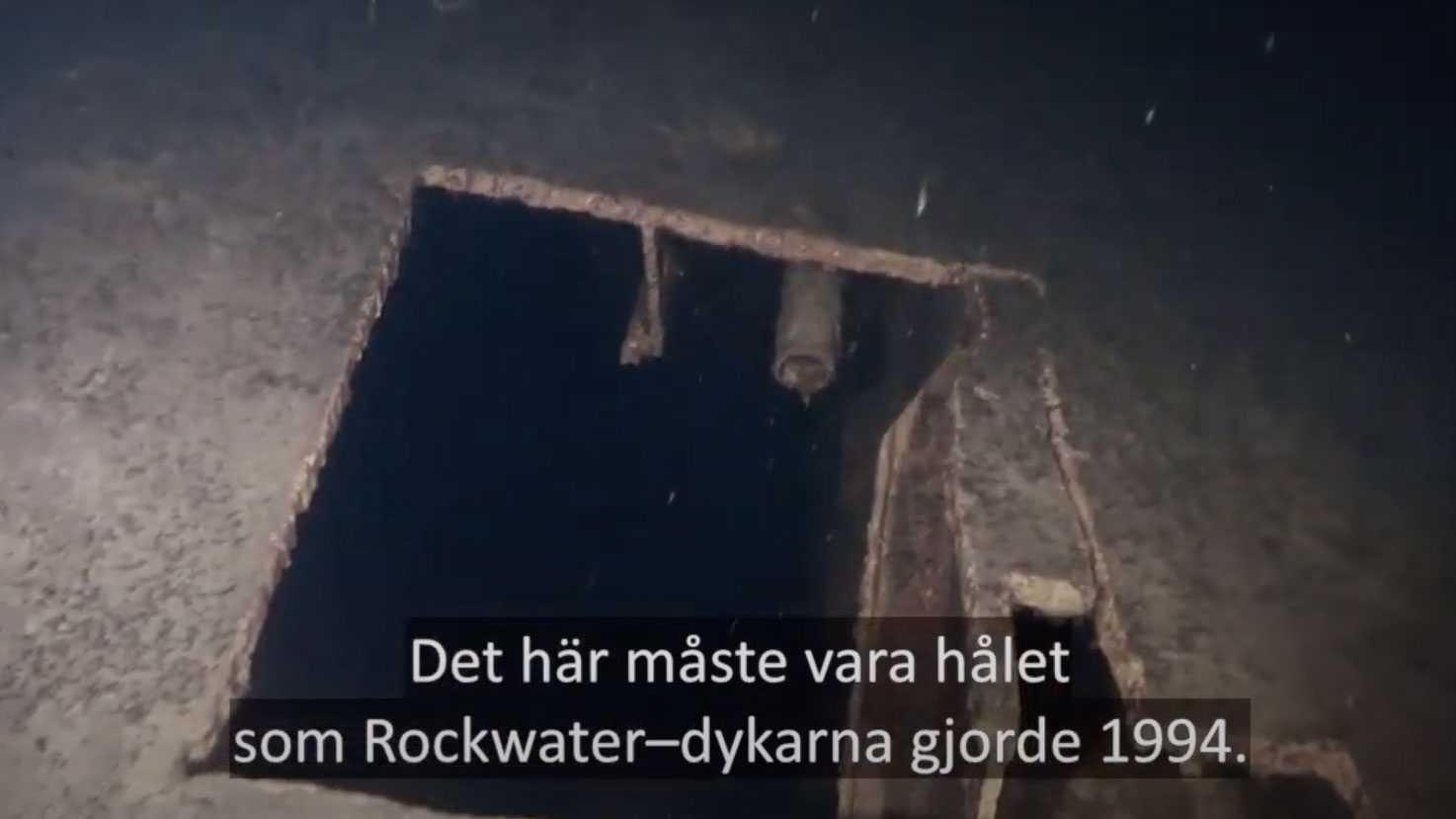 Efter förlisningen undersöktes Estonias vrak av dykare från företaget Rockwater, på uppdrag av Sjöfartsverket.