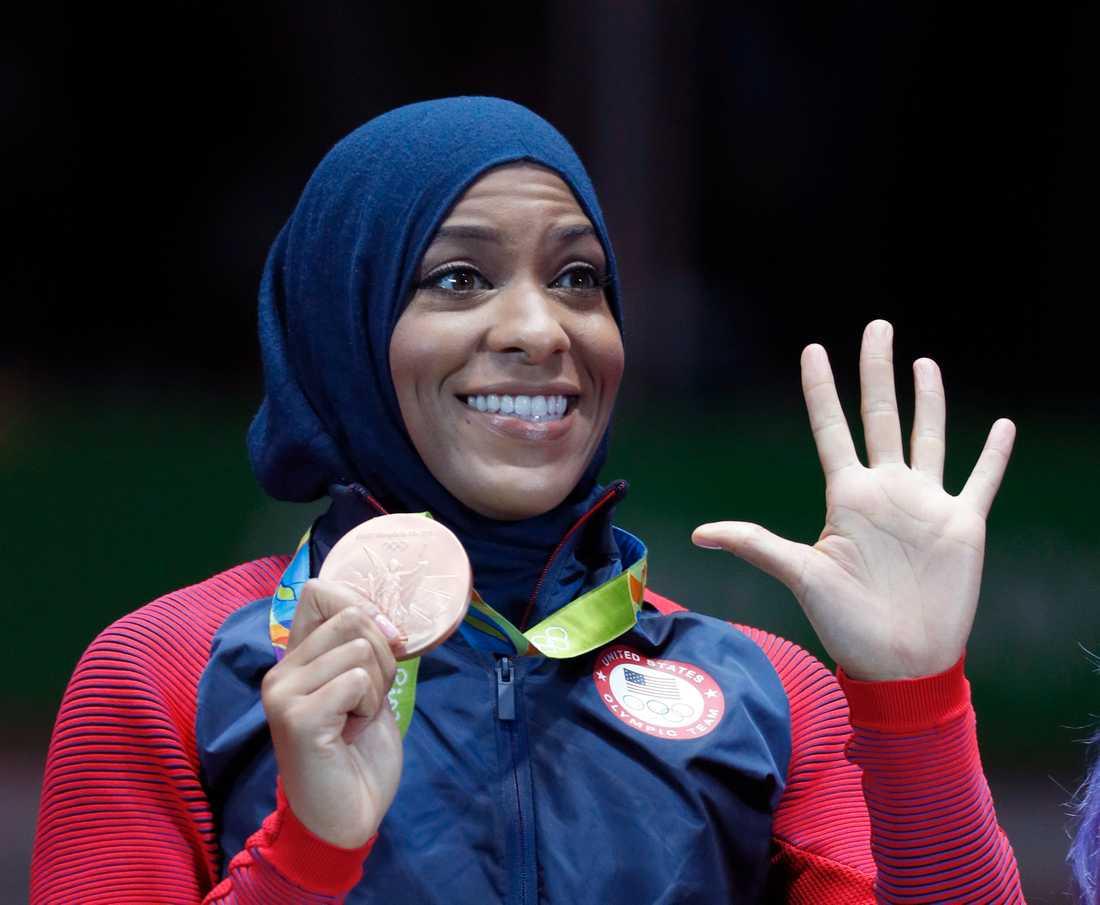 Ibtihaj Muhammad var med under Olympiska spelen i Rio.