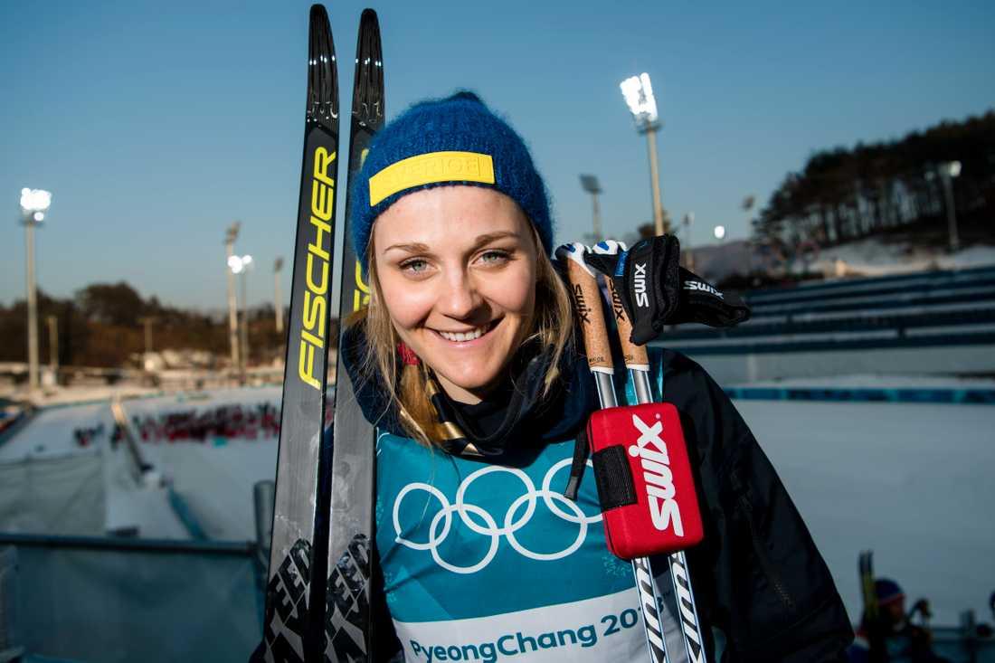 Stina Nilsson har haft stora OS-framgångar.