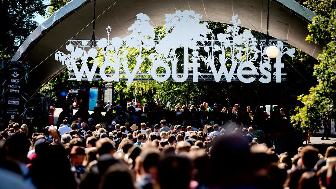 Way Out West 2018 arrangeras i Göteborg 9–11 augusti.