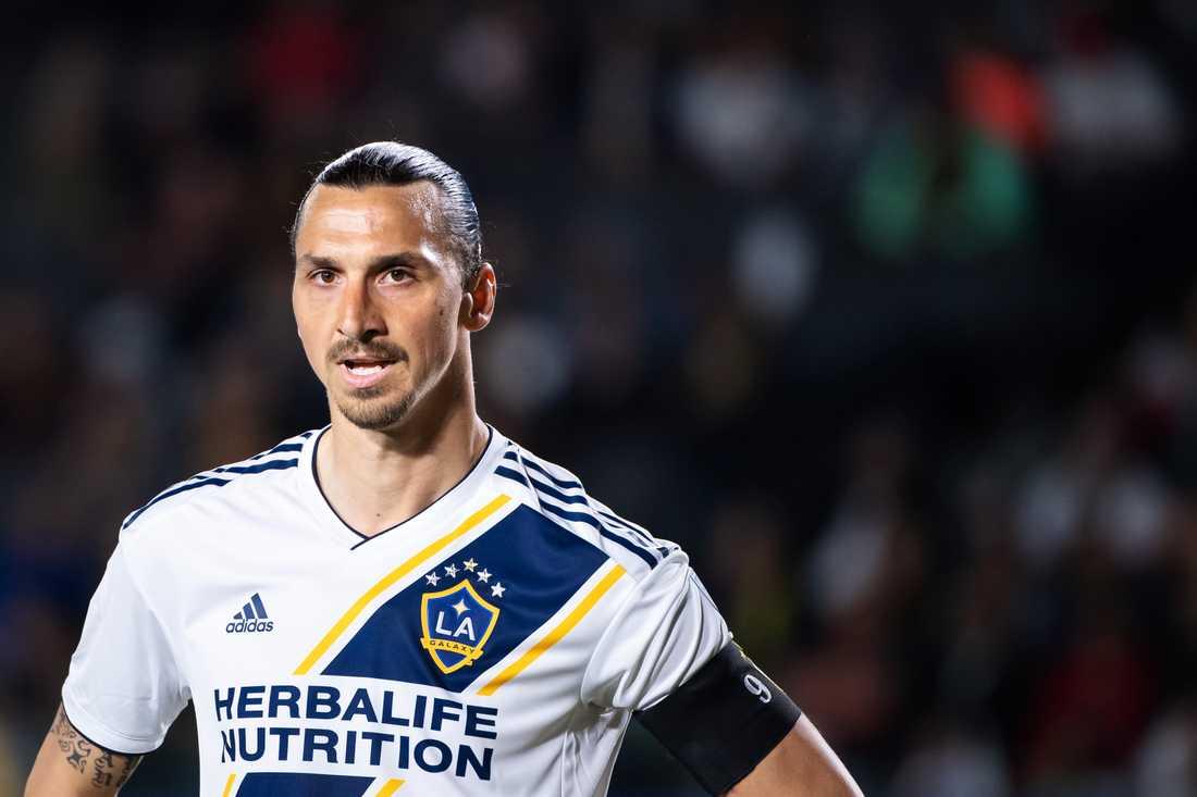 Zlatan valde att inte förlänga kontraktet med Los Angeles.