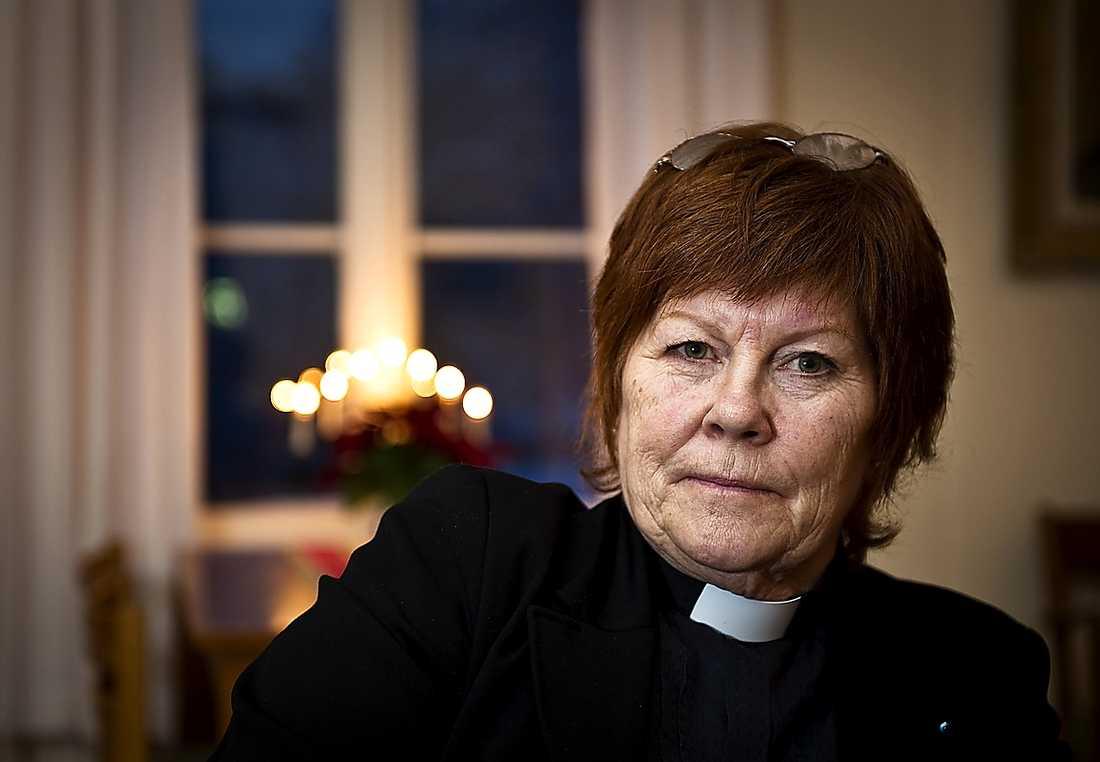 """Lättad trots allt """"En stor lättnad men samtidigt en stor sorg"""", säger väninnan Birgitta Rolöf efter att Kerstin Segerberg hittats död."""