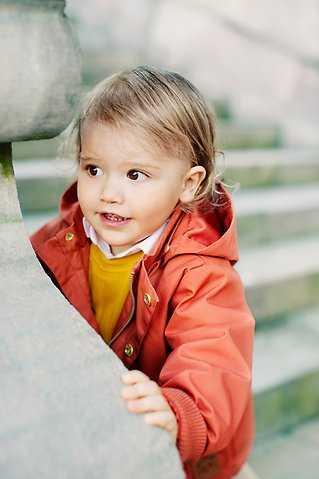 Prins Alexander fyller 2 år.