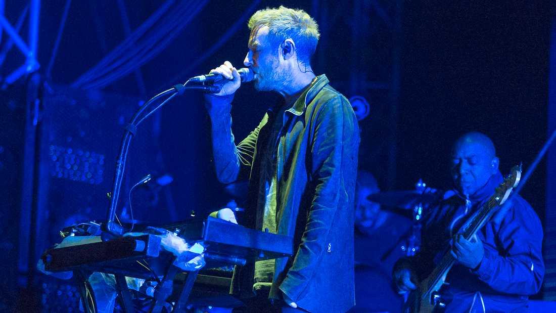 Robert Del Naja i Massive Attack.