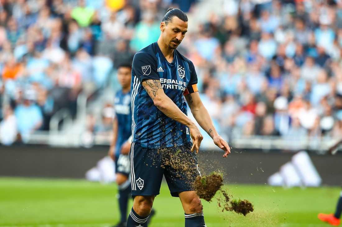 Zlatan fick lämna matchen mot Minnesota mållös