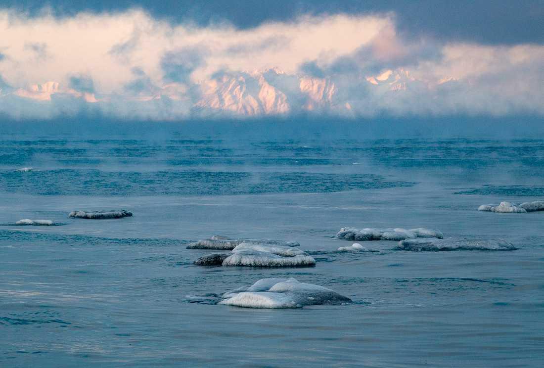Störst effekt av uppvärmningen har uppmätts i Arktis och i norra Sibirien. Här Svalbard, som drabbas av varmare klimat. Arkivbild.