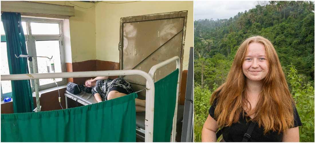 "Sofia blev akut sjuk under resan – ""Kirurgen i Nepal räddade mitt liv""."