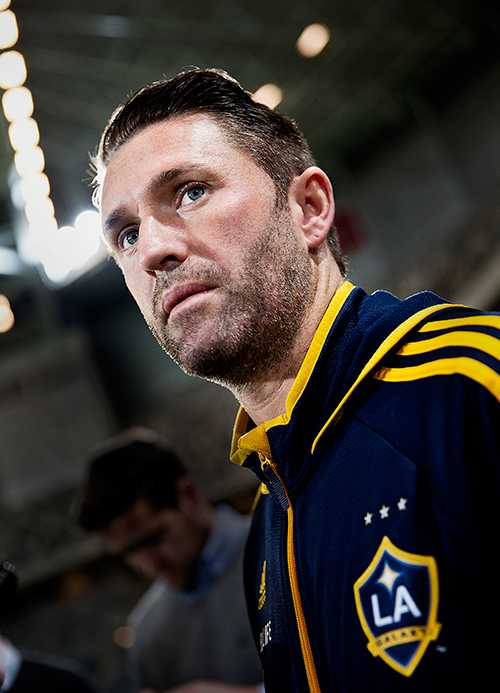 STJÄRNAN Robbie Keane är stjärna i LA Galaxy och i den amerikanska ligan, MLS.