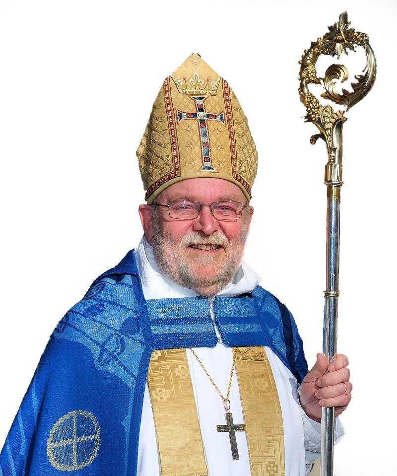 Biskop Sven-Bernhard Fast är en av Svenska kyrkans absolut högsta chefer.