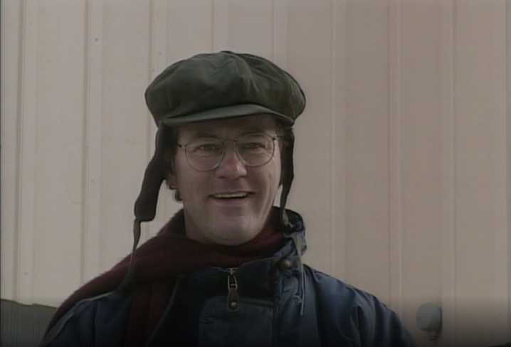 "Peter Haber som ""Pappa Rudolf"" i Sunes Jul."