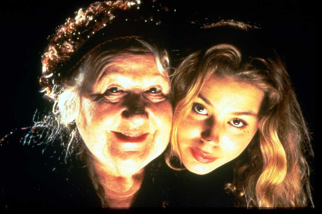 1996: När Finbar försvann Ruud och motspelerskan Fanny Risberg.