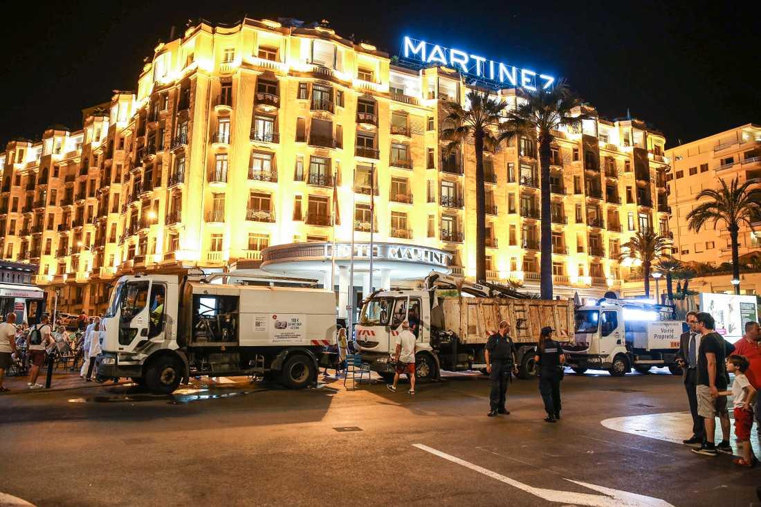 Efter terrorattacken i Nice förra året, när en terrorist i en lastbil mejade ned och dödade 85 personer, bara 2,5 mil i från Cannes, satsade Cannes på säkerheten under den berömda filmfestivalen. I år säger stadens borgmästare att säkerheten är ännu större än i fjol.