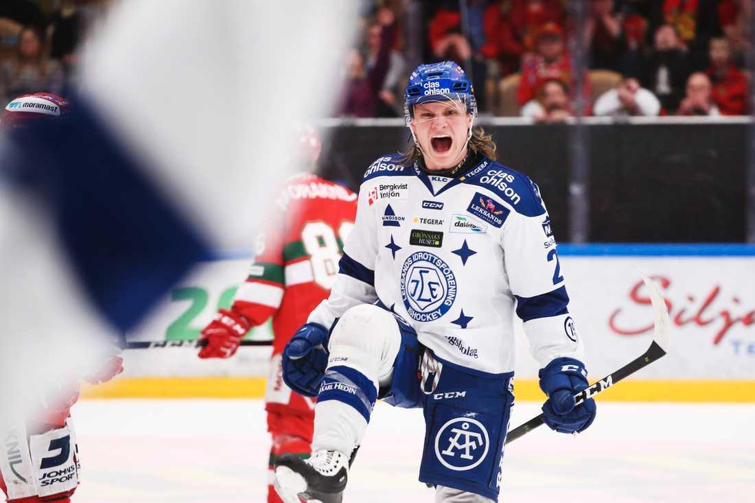 Senast Anton Karlsson spelade i Sverige tillhörde han Leksand.