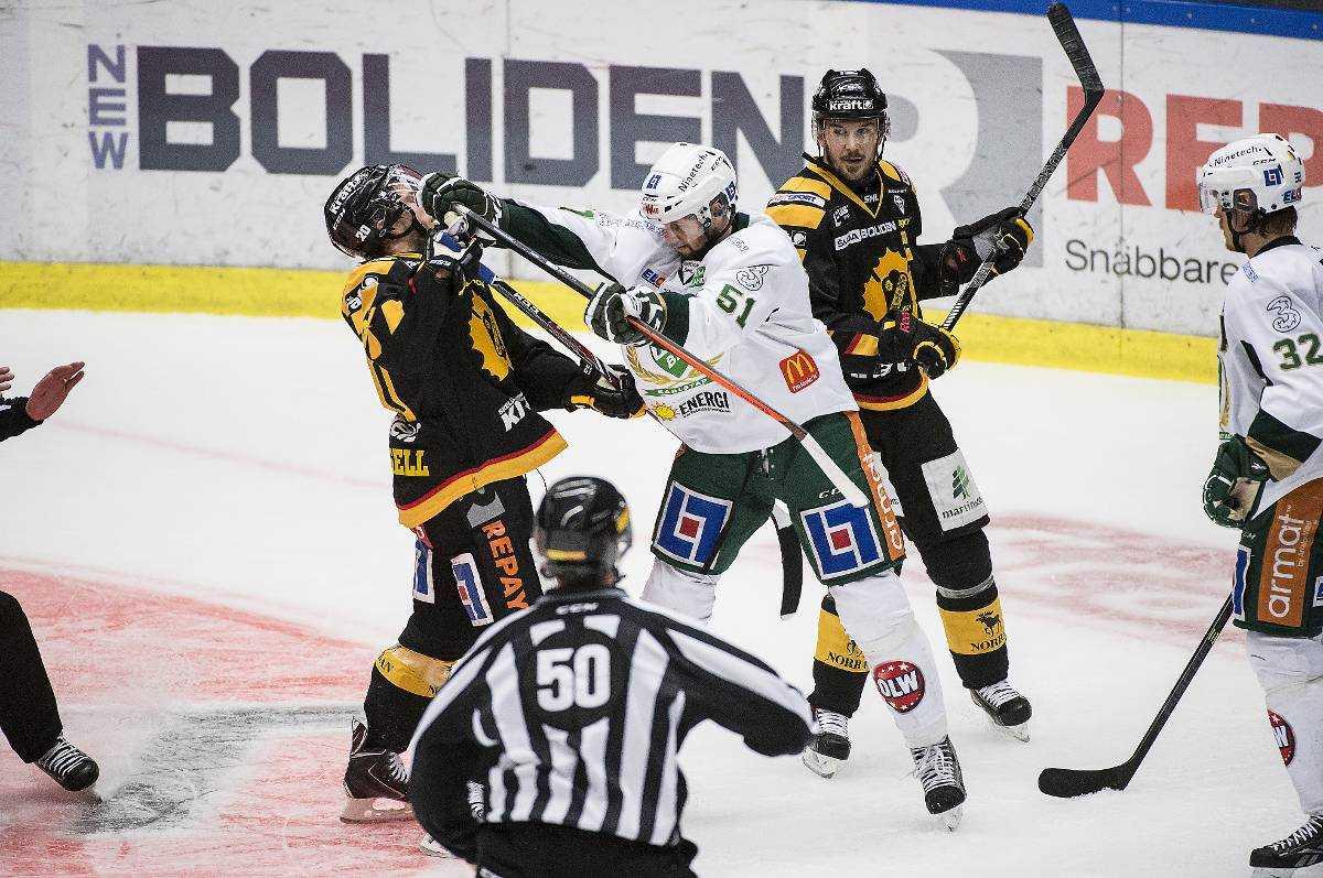 """Färjestad föll klart i den första finalmatchen mot Skellefteå. Efter 3–0-förlusten fick laget dock med sig några positiva svar. """"Jag är inte ett dugg orolig att vi ska klara av att vända på det här"""", säger FBK-backen Magnus Nygren."""
