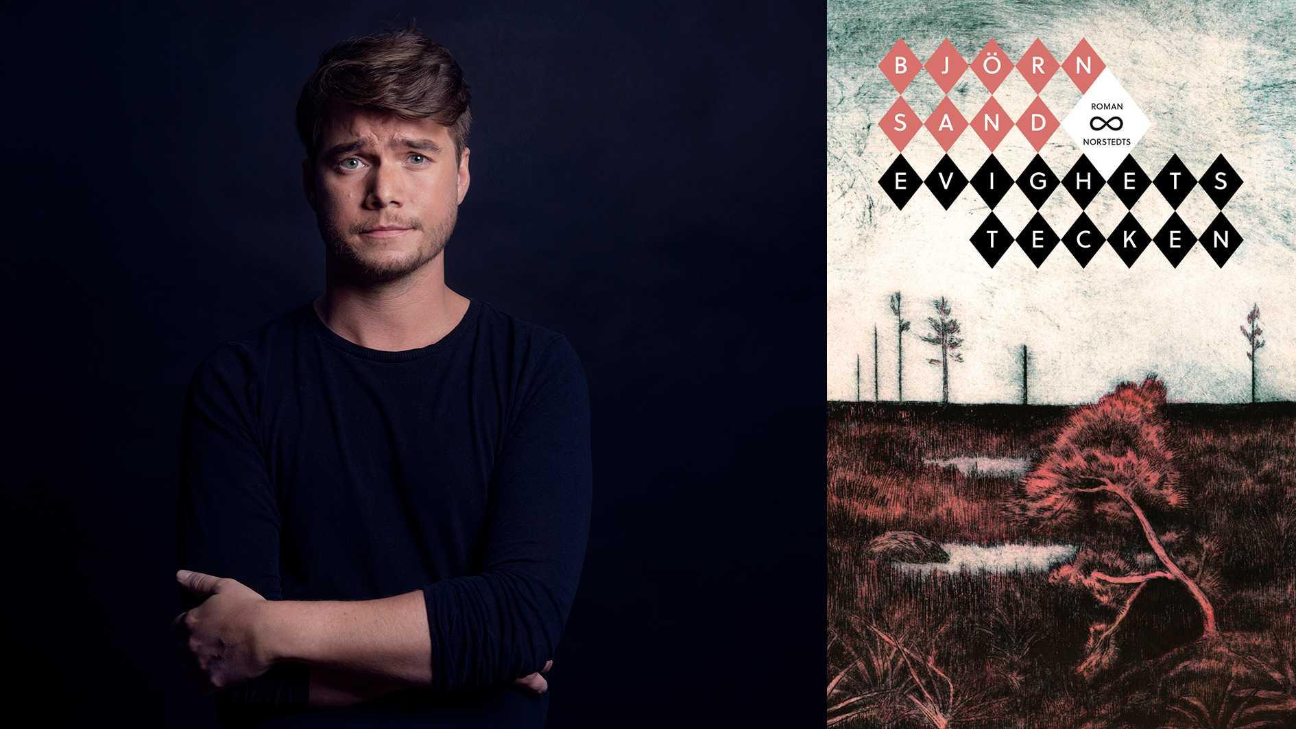"""Björn Sand (född 1989) debuterar med romanen """"Evighetstecken""""."""
