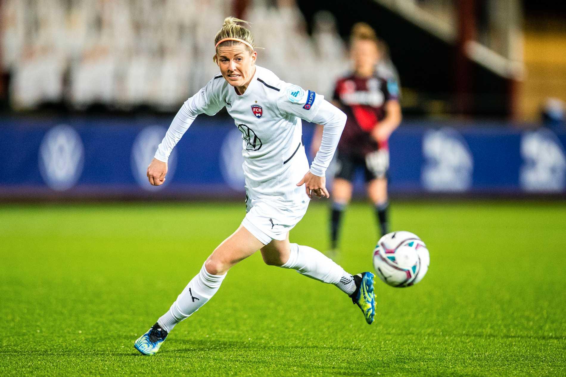 Olivia Schough är ny i FC Rosengård inför Damallsvenskan 2021.