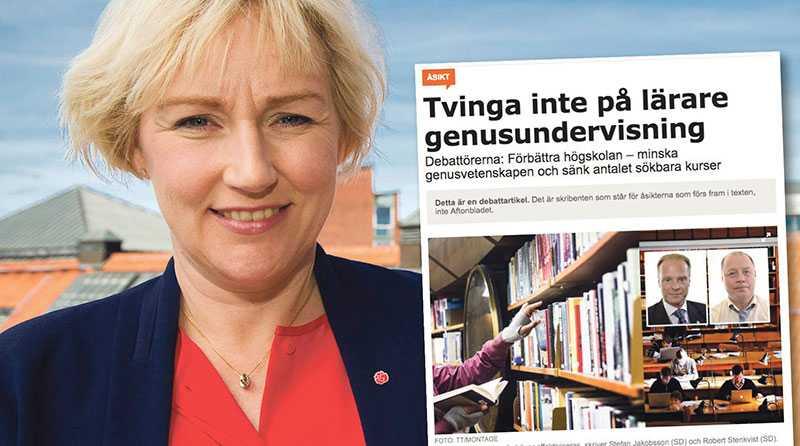Här står skiljelinjen mellan Socialdemokraterna och Sverigedemokraternas högskolepolitik, skriver Helene Hellmark Knutsson.