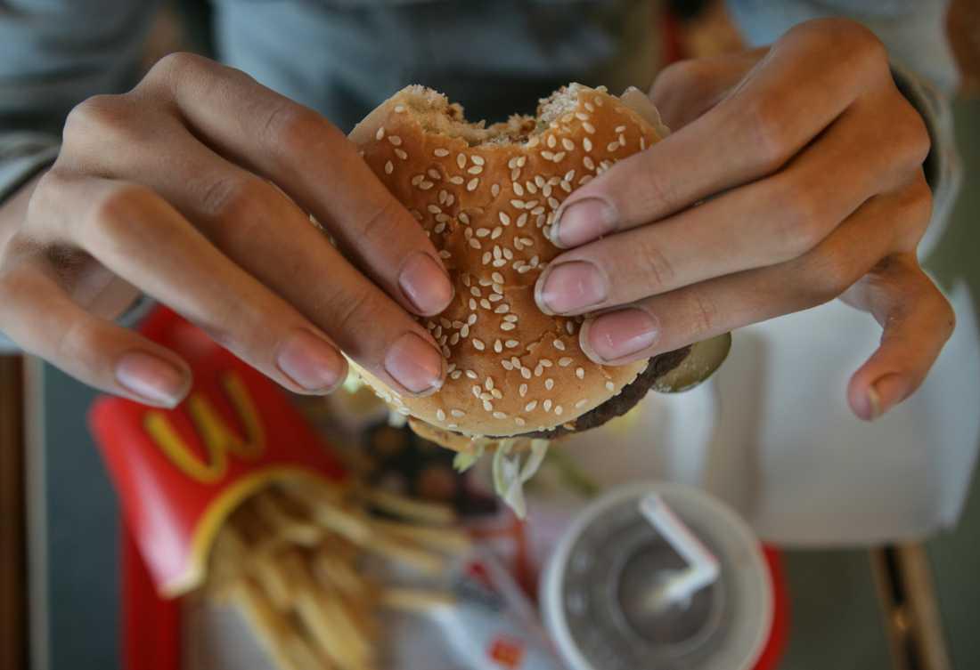 Svenska proteinkällor lyser med sin frånvaro i vegoburgarna hos hamburgerkedjorna. Arkivbild.
