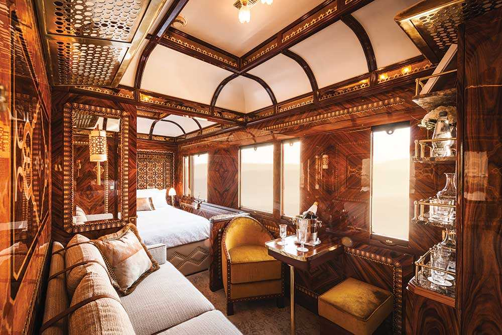 Grand Suites har 24-timmars butlerservice och fri champagne.