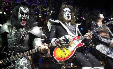 Gene Simmons, Ace Frehley och Paul Stanley