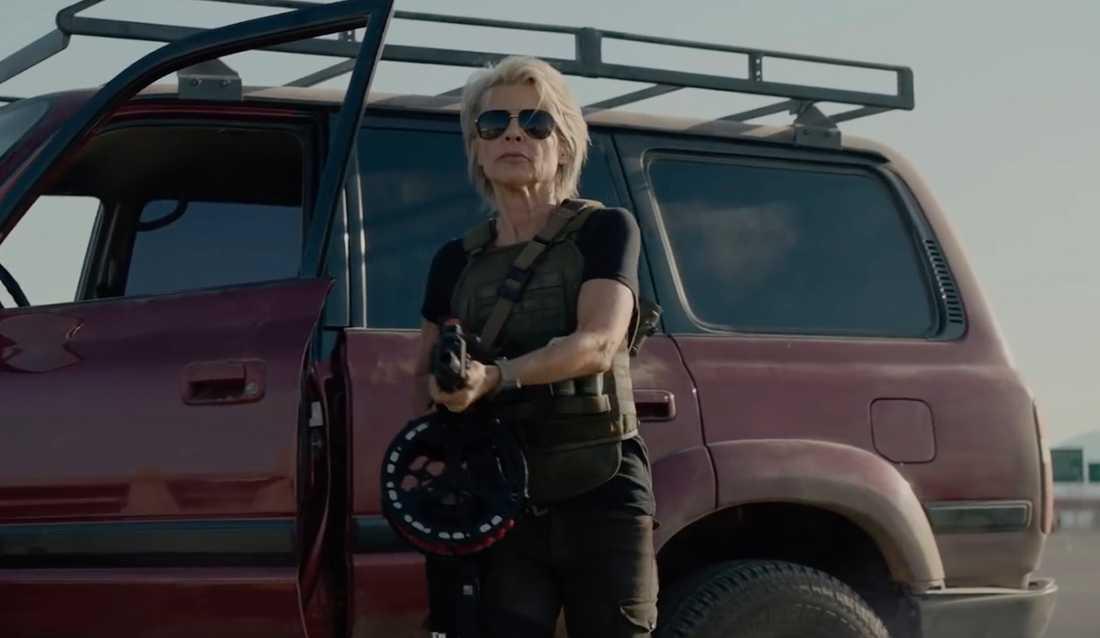 "Linda Hamilton i ""Terminator: Dark fate""."