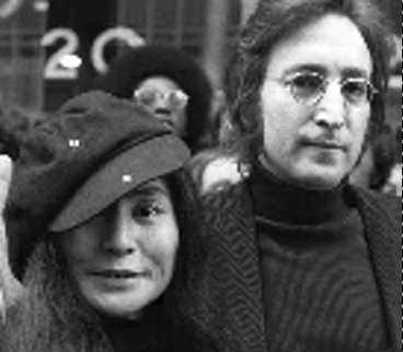 Lennon och Ono.