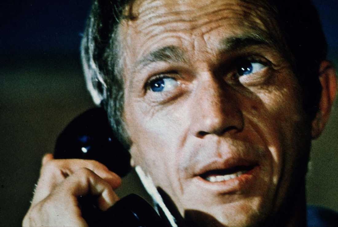 Steve McQueen från filmen Bullitt från 1968.