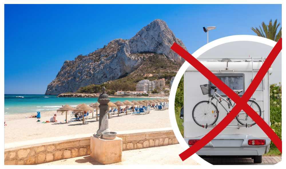 Ny lag mot husbilar i spanska Calvina.
