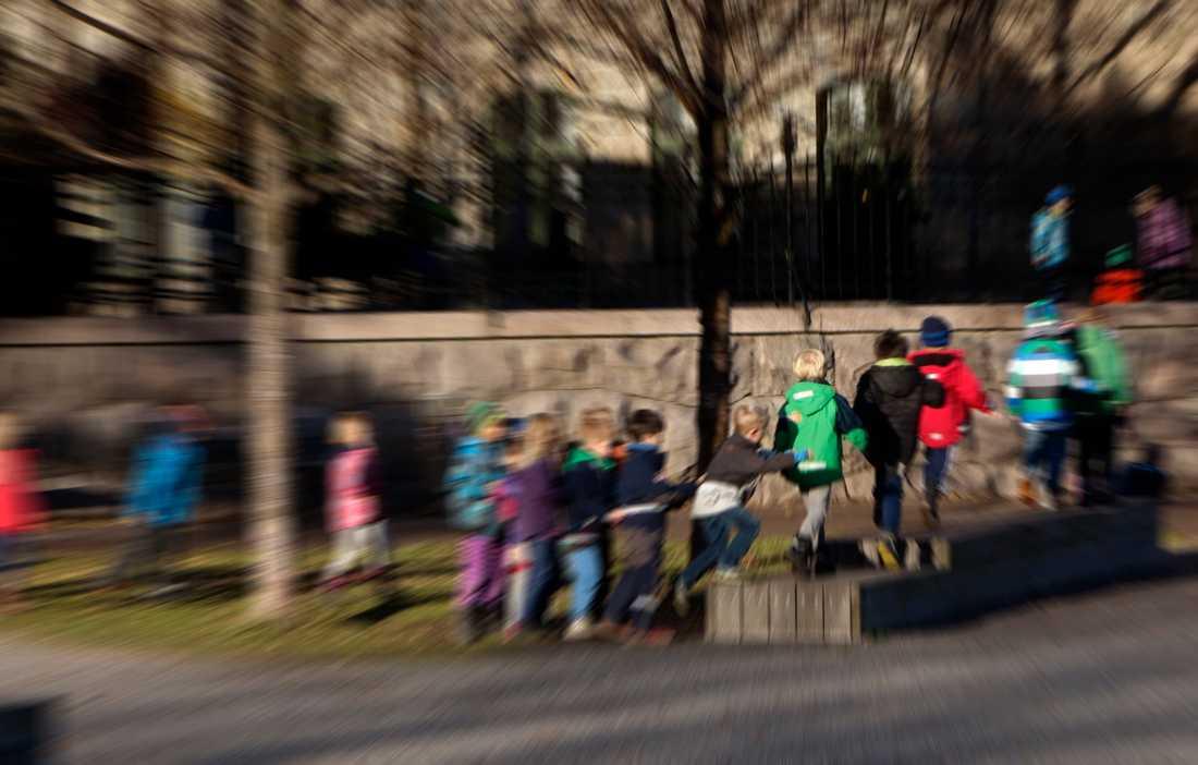 En skola i Småland stängde felaktigt av en lågstadieelev i höstas. Arkivbild.