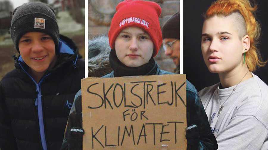 Det är vårt gemensamma hem som brinner. Vi riskerar just nu att förstöra den enda planet vi har, skriver Andreas Magnusson, Ell Ottosson Jarl och Isabelle Axelsson tillsammans med sex andra debattörer från miljörörelsen.